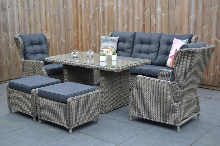Outlet Loungeset Tuin.Luxe Betaalbare Tuinmeubelen Oude Wesselink Tuinmeubelen Link Ned